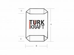Kraft Torba Dipli Valfli Kraft Torba