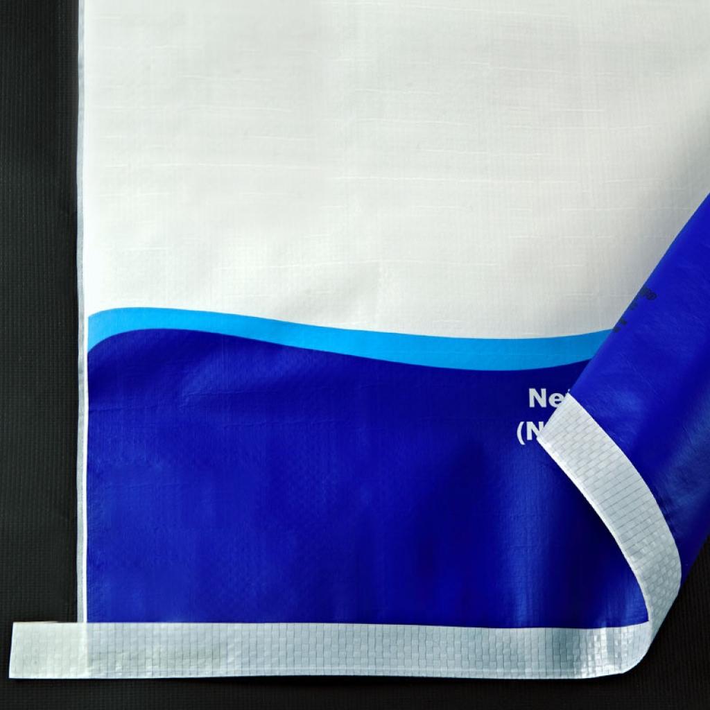 BOPP Lamineli OPP Torba Kraft Torba Kraft Kağıt Çimento Torbası
