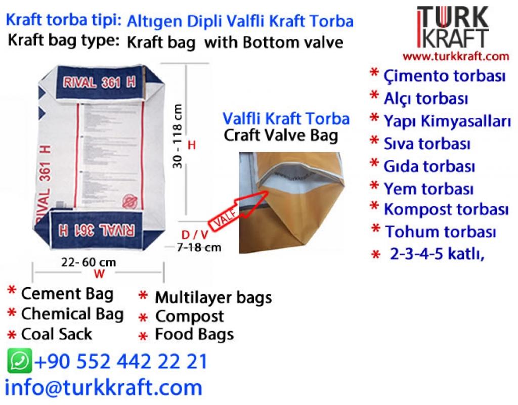 Kraft Kimyasal Torbası Kraft Torba