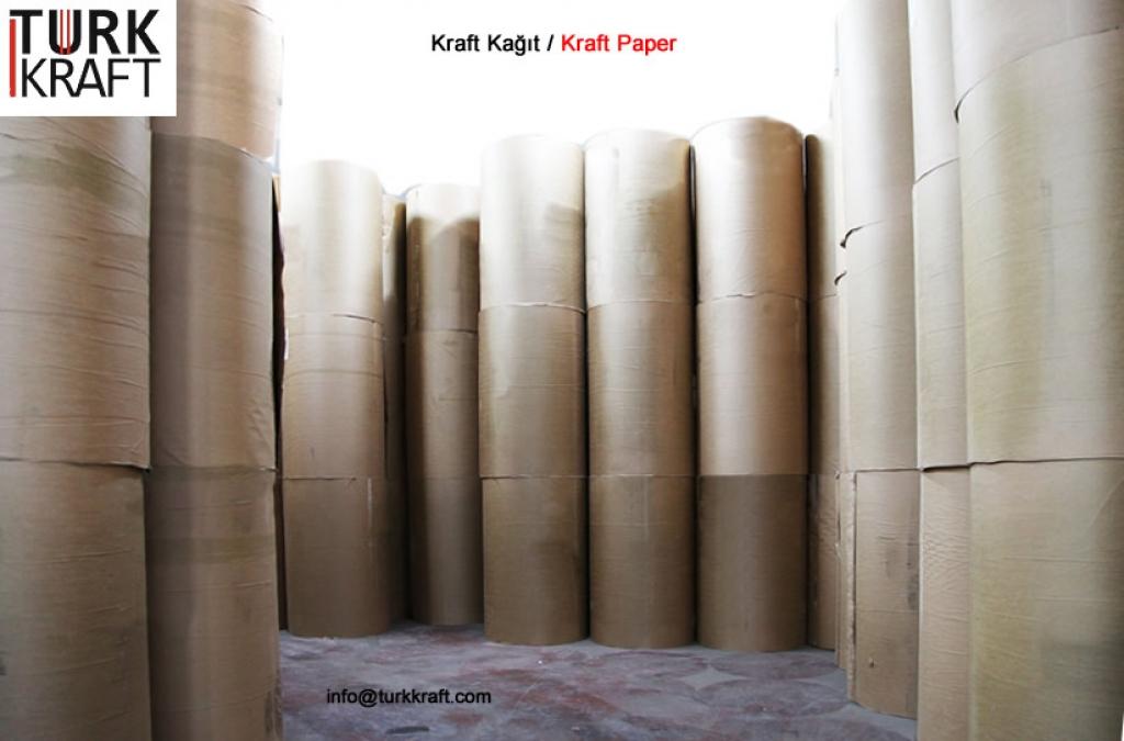 Standart Kraft Kağıt Kraft Torba Kraft Kağıt Çimento Torbası